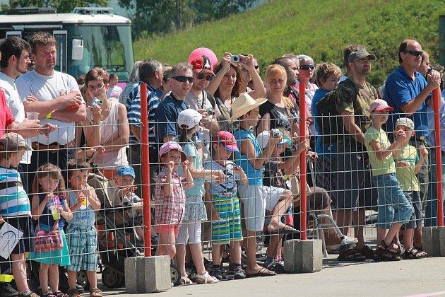 Den otevřených dveří na letišti v Českých Budějovicích