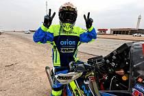 Martin Michek může slavit, na Dakaru skončil v první desítce.