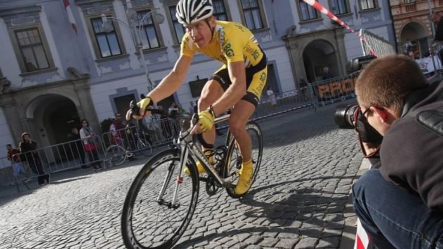 PROLOG. Premiérový ročník cyklistického závodu Okolo jižních Čech začínal předloni v Českých Budějovicích.