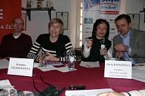 Kateřina Neumannová představila v Českých Budějovicích několik projektů