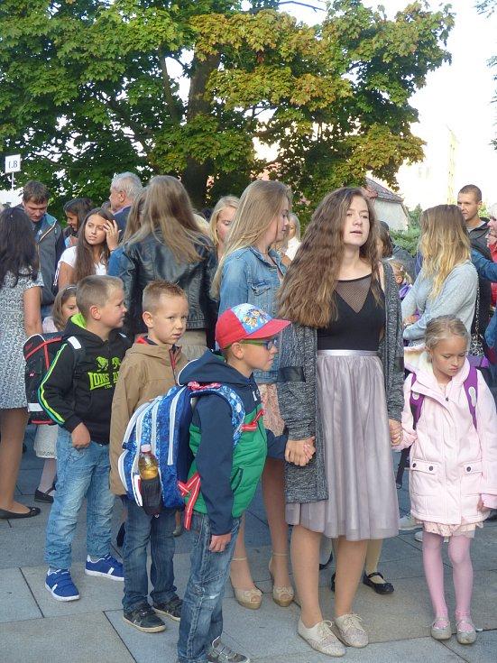 Začátek školního roku na ZŠ Hluboká nad Vltavou