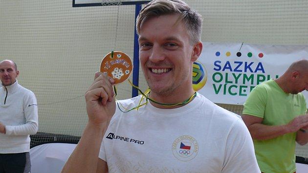 Sazka olympijský víceboj v Českých Budějovicích