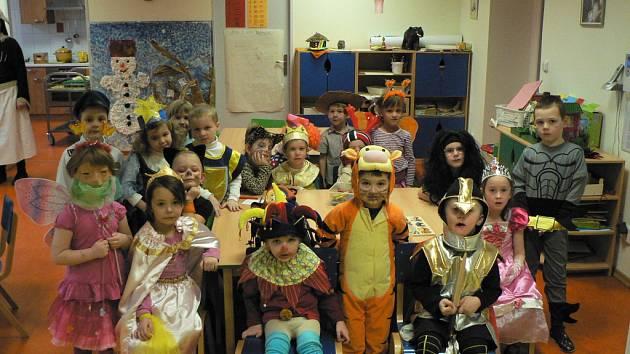 Mateřská školka. Děti v mateřské školce. Ilustrační foto.