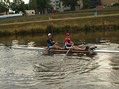 Zajímavostí letošního ročníku byla účast veslařské posádky na dvojskifu Radek Smékal a Martin Salač z Českých Budějovic.