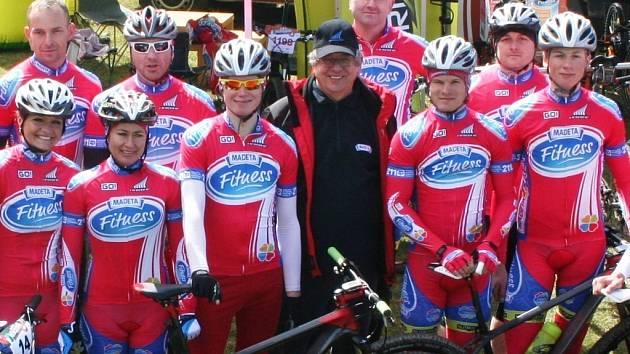 Cyklisté týmu Madeta Fitness Haibike byli úspěšní v závodě horských kol Okolobudějc