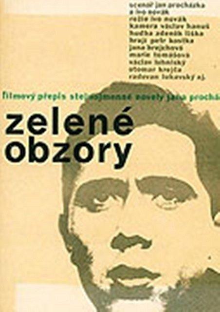 Plakát k filmu Zelené obzory.