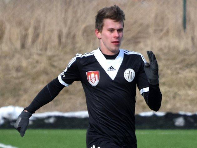 Filip Hašek dal v Hradci jediný gól Dynama.
