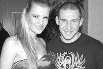 Štěpán Hřebejk (na snímku) s Veronikou Chmelířovou, druhou vicemiss ČR 2007.