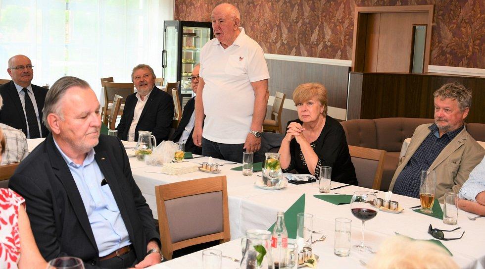 Mezi olympioniky dorazila hejtmanka Jihočeského kraje Ivana Stráská