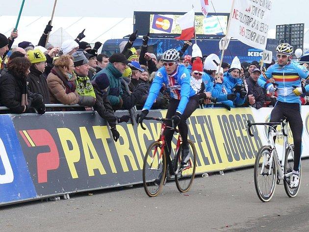Petr Dlask v dějišti mistrovství světa