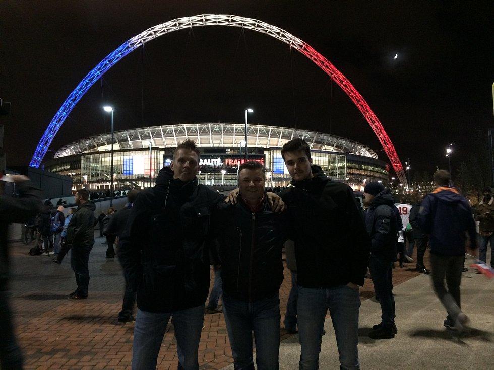 Vadim Rys, Karel a Dennis Rottenbornovi v Londýně