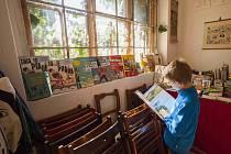 Táborská Dílna Baobabu (snímek) je podle organizátorů knižního festivalu Tabook intimní prostor pro nejdůležitější hosty. Besedovat a číst zde od 29. září do 1. října budou Lucia Piussi, Miloš Doležal, Josef Kroutvor, Karol Sidon nebo Petr Váša.