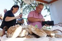 Tradiční trh v Boršově nad Vltavou.