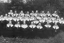 Boromejky, které vykonávaly práci zdravotních sester, v nemocnici byly až do 50. let.