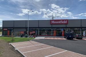 Nová prodejna Mountfieldu v Českých Budějovicích.