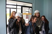 Na exkurzi do Jaderné elektrárny Temelín vyrazili žáci Vyšší odborné školy a Střední školy, s. r. o., v Českých Budějovicích.