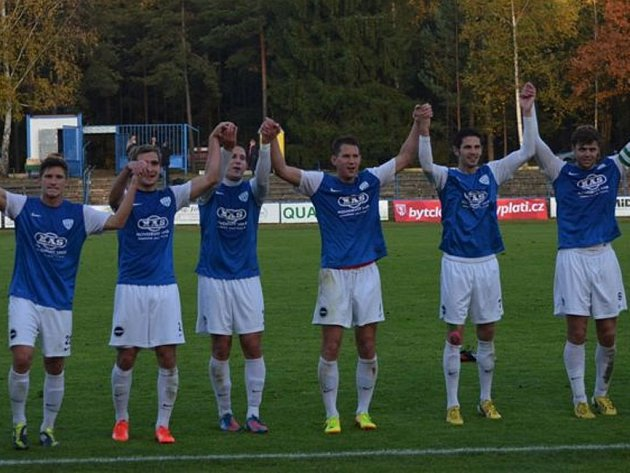 Před dvěma týdny se fotbalisté Táborska ve II. lize radovali doma z výhry s Vltavínem, uspějí i v sobotu na Soukeníku proti Karviné?