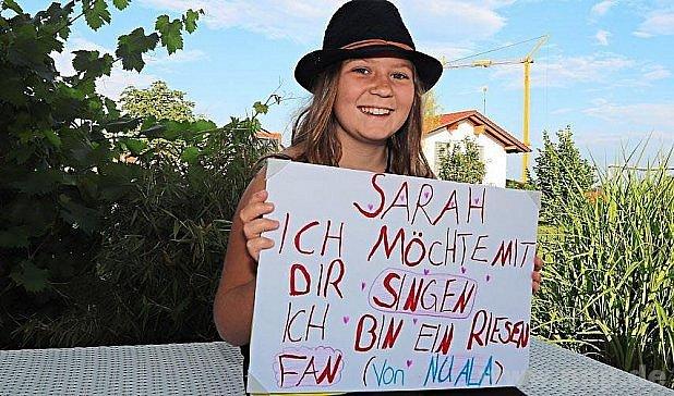 … a Sarah si výzvy povšimla!