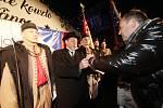 Tomáš Garrigue Masaryk dorazil na budějovické náměstí.
