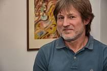 V pátek zahájil Miroslav Petřík dvě výstavy seskládané ze své celoživotní umělecké tvorby.