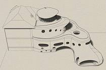 Jedinečnou podobu přístavby pro zubaře navrhl Michal Trpák. Míní, že architektura je větší socha, která musí mít funkci.