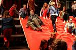 Tábor patřil od 3. do 5. října knihám, festival Tabook, zaměřený na malé nakladatele, přilákal stovky lidí. Na snímku Timothée de Fombelle, autor bestselleru Tobiáš Lolness. Zapojil se do inscenace podle své knihy v táborském divadle.