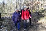 Na pěší výlet z Nových Homolí do Litvínovic se vydali členové Klubu Aktiv České Budějovice.