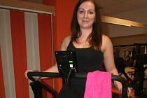 Alena Štědrovská zařadila do svého programu také aerobní cvičení alpinning.
