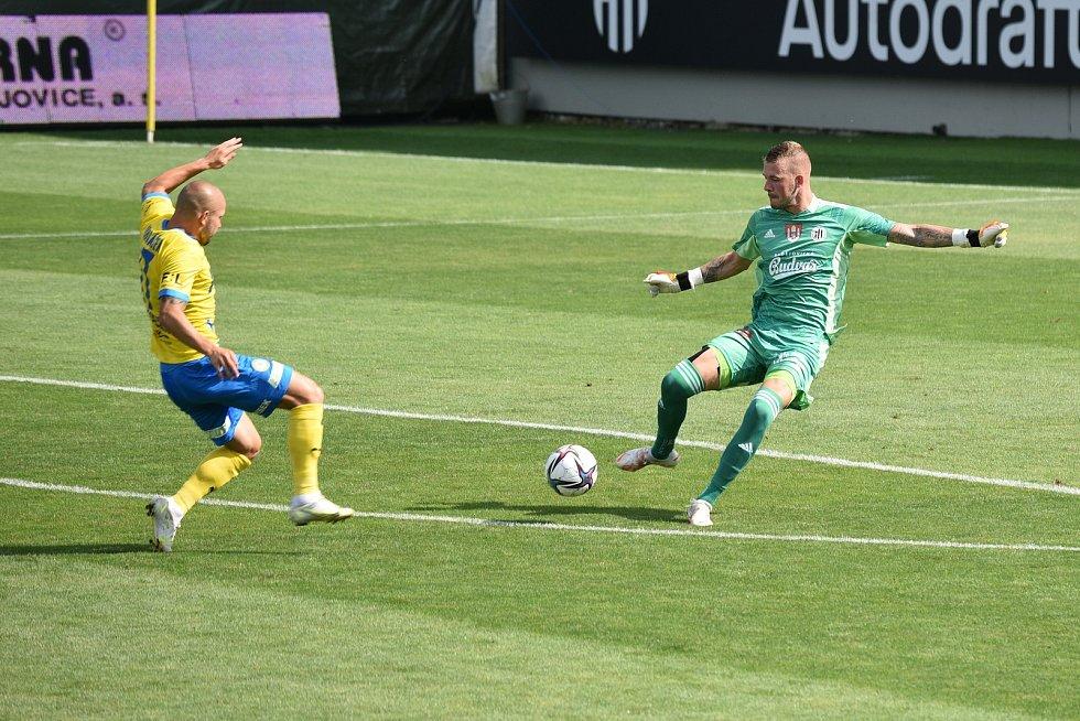 Fotbalová FORTUNA:LIGA Dynamo ČB - Teplice.