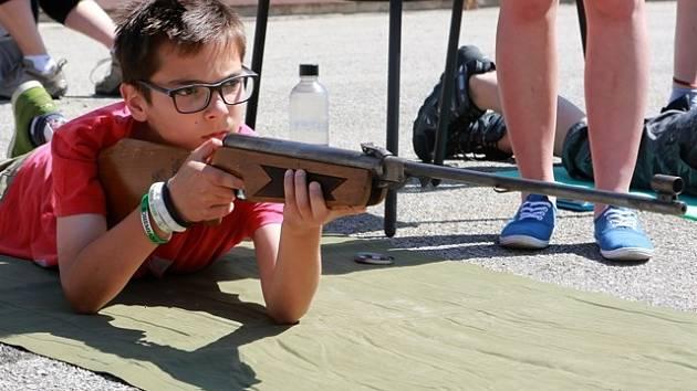 Hasiči uspořádali krajskou soutěž pro děti ze základních škol.