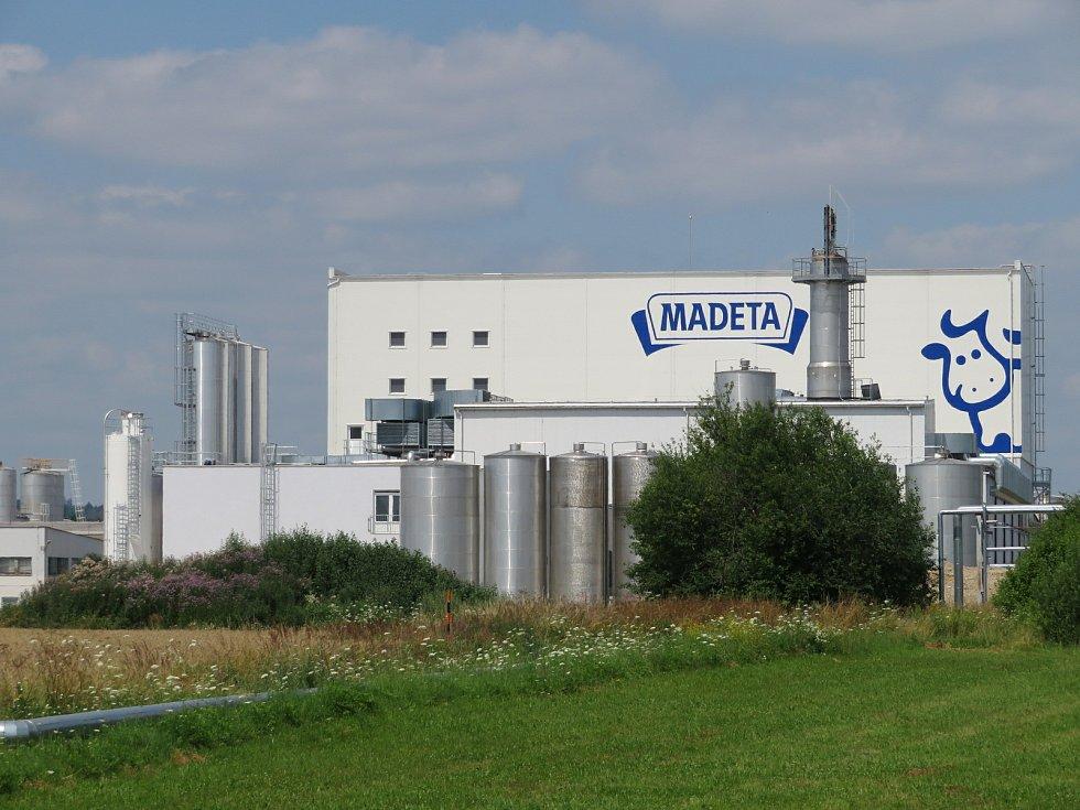 Online i v běžném životě obyvatelé Jihočeského kraje milují mléčné výrobky od Madety. Na snímku závod v Plané nad Lužnicí.