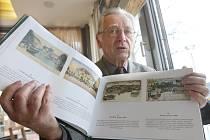 Numismatik, historik a pedagog Jiří Chvojka vydal před Vánoci publikaci pohlednic. Najdete v ní i pohledy z jihu Čech.