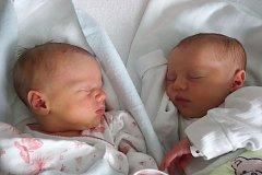 Se shodnou váhou 2,8 kilogramu se v českobudějovické nemocnici narodila dvojčata Anežka a Eliška Matznerovy. Dvě sestřičky poprvé uviděly svět 8. 1. 2018, první se narodila v 9.40 hod. a ta druhá pouhou minutu poté. Domovem Anežky a Elišky jsou České Bud