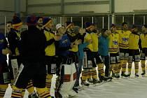 Hokejisté Motoru slaví postup do semifinále.