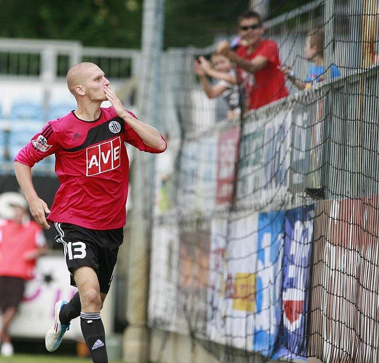 Utkání 3. kola fotbalové Gambrinus ligy mezi Dynamo České Budějovice a SK Sigma Olomouc.