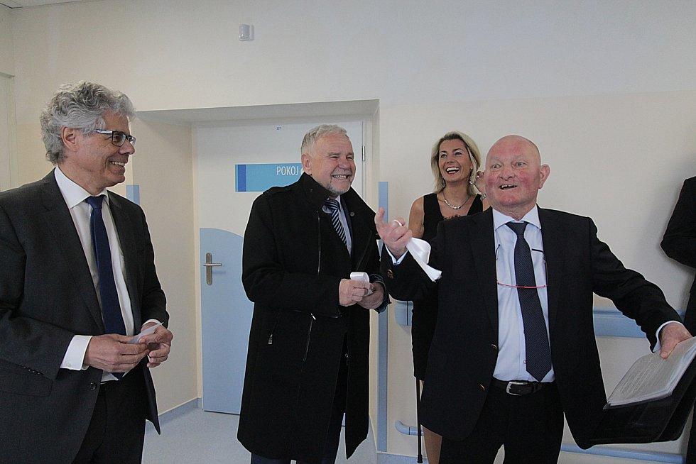 Rekonstruovaný pavilon českobudějovické nemocnice bude sloužit urologii a gynekologii