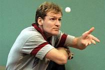 Nejlepší jihočeský stolní tenista Michal Vávra