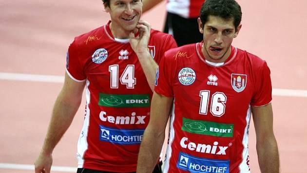 Petr Zapletal a Peter Pláteník jsou hlavními oporami týmu Jihostroje