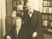 Hana a Edvard Benešovi.