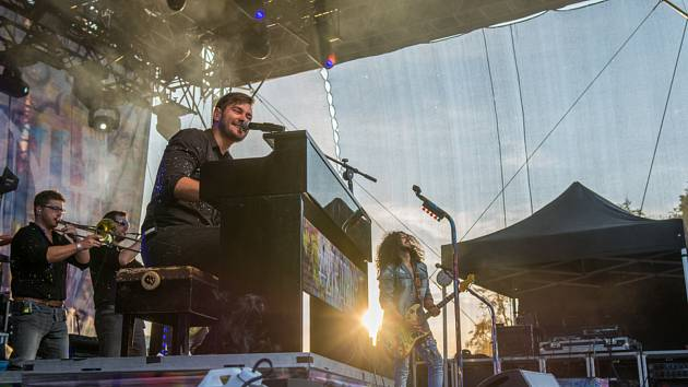 Putovní hudební akce LétoFest nabídla dva dny výborné muziky i zábavy 19. a 20. 7. 2019, zázemí našla na Výstavišti České Budějovice.