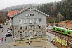 Nejhezčí nádraží Německa.