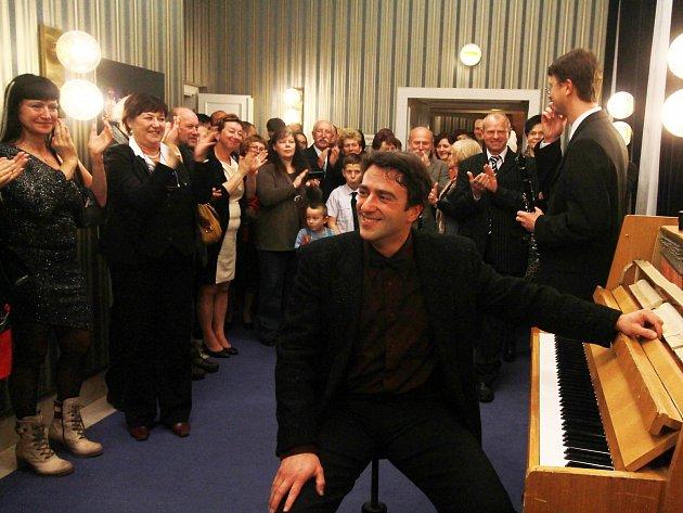 Netradičního setkání herců s diváky v zákulisí se zúčastnila i českobudějovická scéna