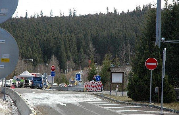 Do Bavorska zavřeno.