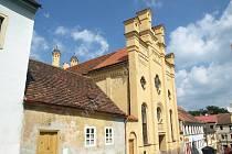 Na dokončení obnovy synagogy v Písku půjde v roce 2015 přes 40 milionů korun.