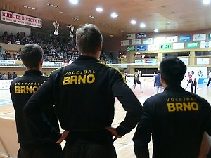 Volejbal, Jihostroj - Brno, extraliga muži.
