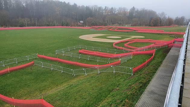 Tábor hostí závod SP v cyklokrosu