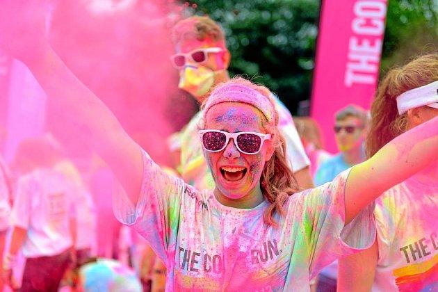 Veselý a barevný běh!