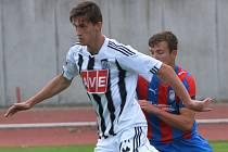 Matyáš Markytán dal v zápase s Brnem oba góly devatenáctky Dynama.