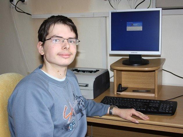 Martin Rameš, student Gymnázia J.V. Jirsíka v Českých Budějovicích, vyniká v technických oborech.