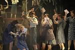 Muzikál Evita v Jihočeském divadle.